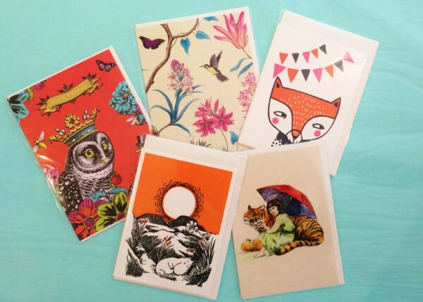Cards from Roger la Borde